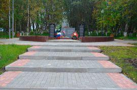 Производство и укладка тротупарной плитки в Мурманске. Аллея Славы.