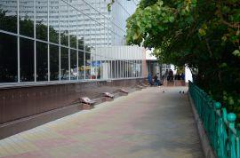 Производство и укладка тротуарной плитки в Мурманске: универмаг Волна