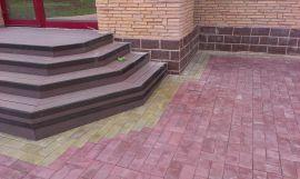 Тротуарная плитка производство и укладка в Мурманске. Примеры наших работ.